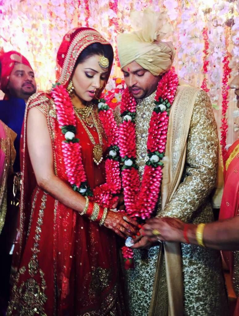 Suresh Raina Tied the Knot with Childhood Friend Priyanka