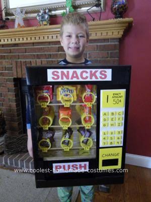cool homemade vending machine costume parker pinterest