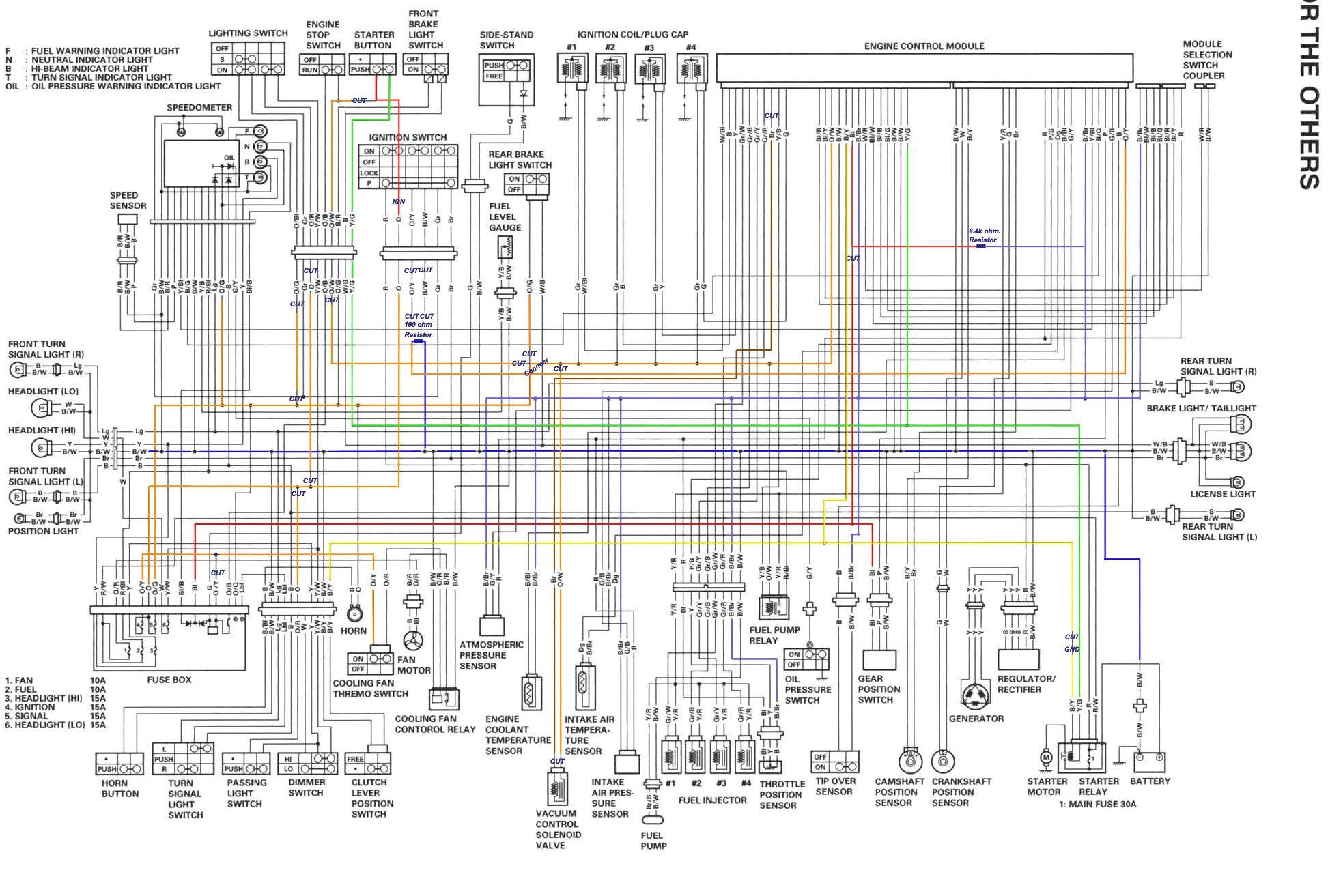 Gsxr1300k8 Electrik Diagram