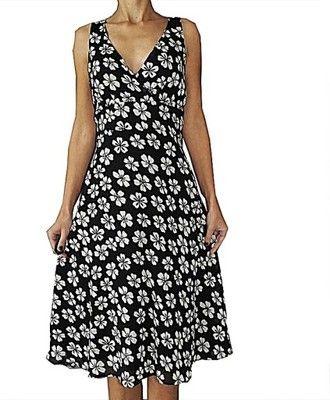 Petite Piekna Czarna Sukienka Kwiatki 40 6540145153 Oficjalne Archiwum Allegro Midi Dress Sleeveless Beachwear Brands Midi Dress