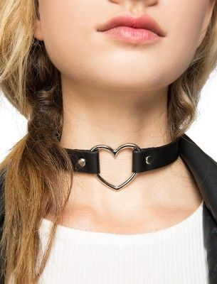 Pixie Market's Heart Choker Necklace
