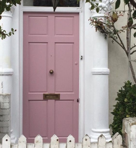 Cinder Rose door of The Magpie and the Wardrobe & Cinder Rose door of The Magpie and the Wardrobe | Dream House Decor ...