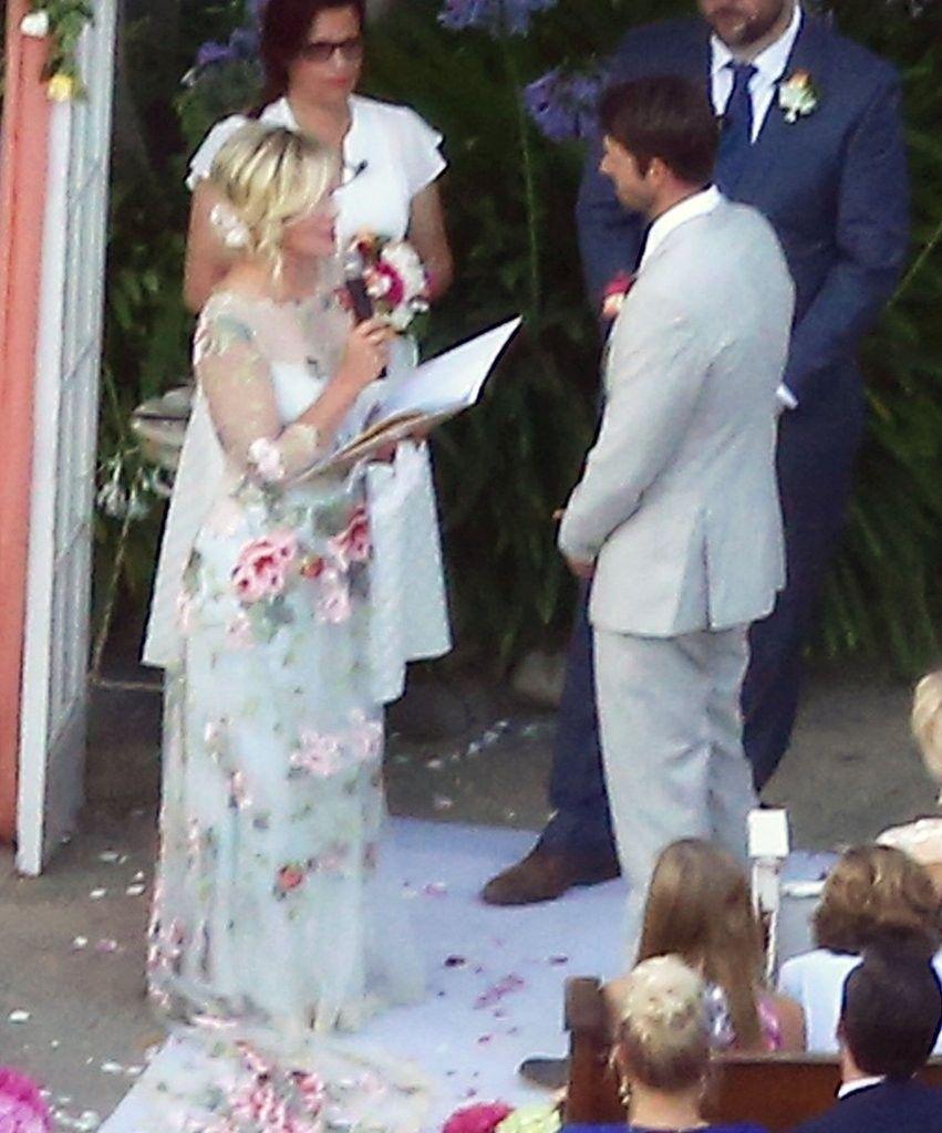 Jennie Garth 2015 Wedding Dress Jennie Garth Celebrity Weddings