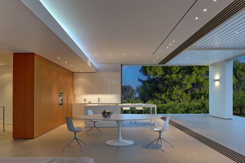 a stunning white modern home on a greek island - Greek Modern Home Architecture Design