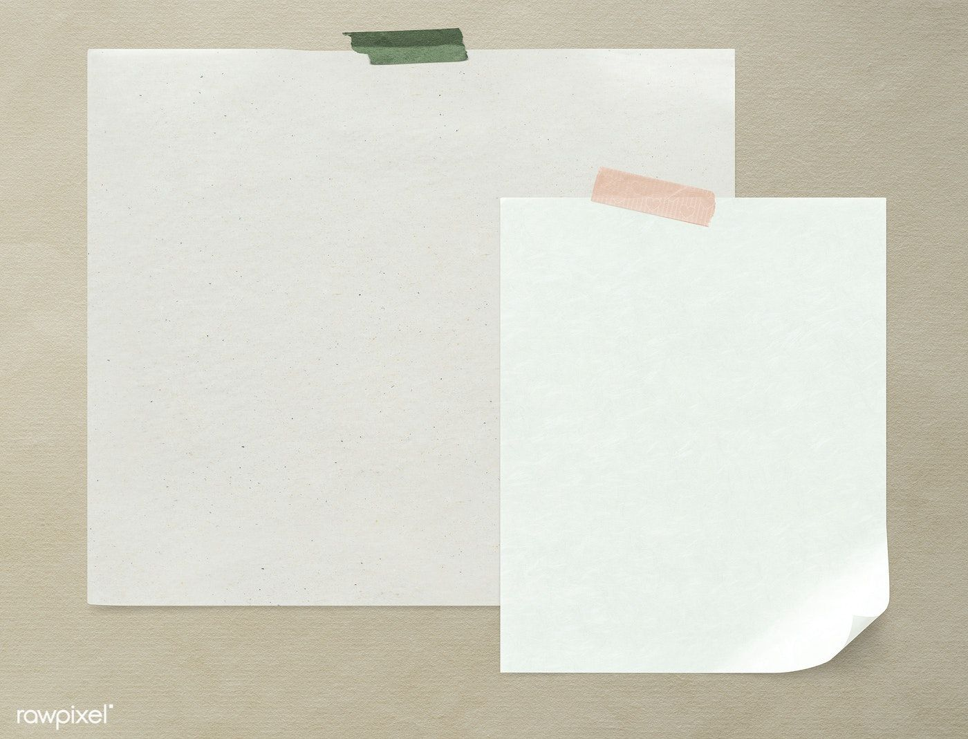 Download Premium Psd Of Blank Plain White Paper Template 1201859 Paper Template White Paper Paper