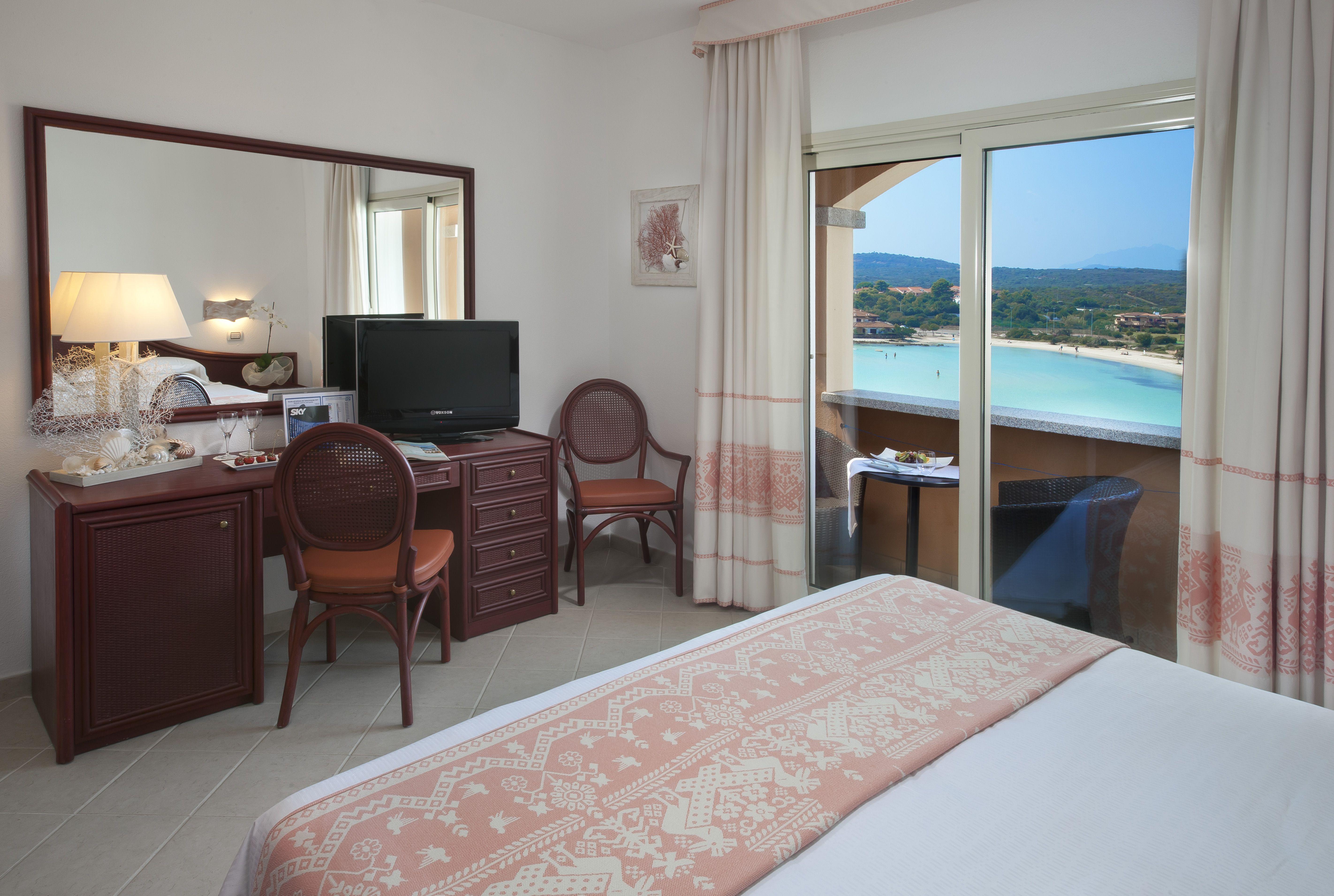 Vista mare dalla camera Superior dell'Hotel Gabbiano Azzurro