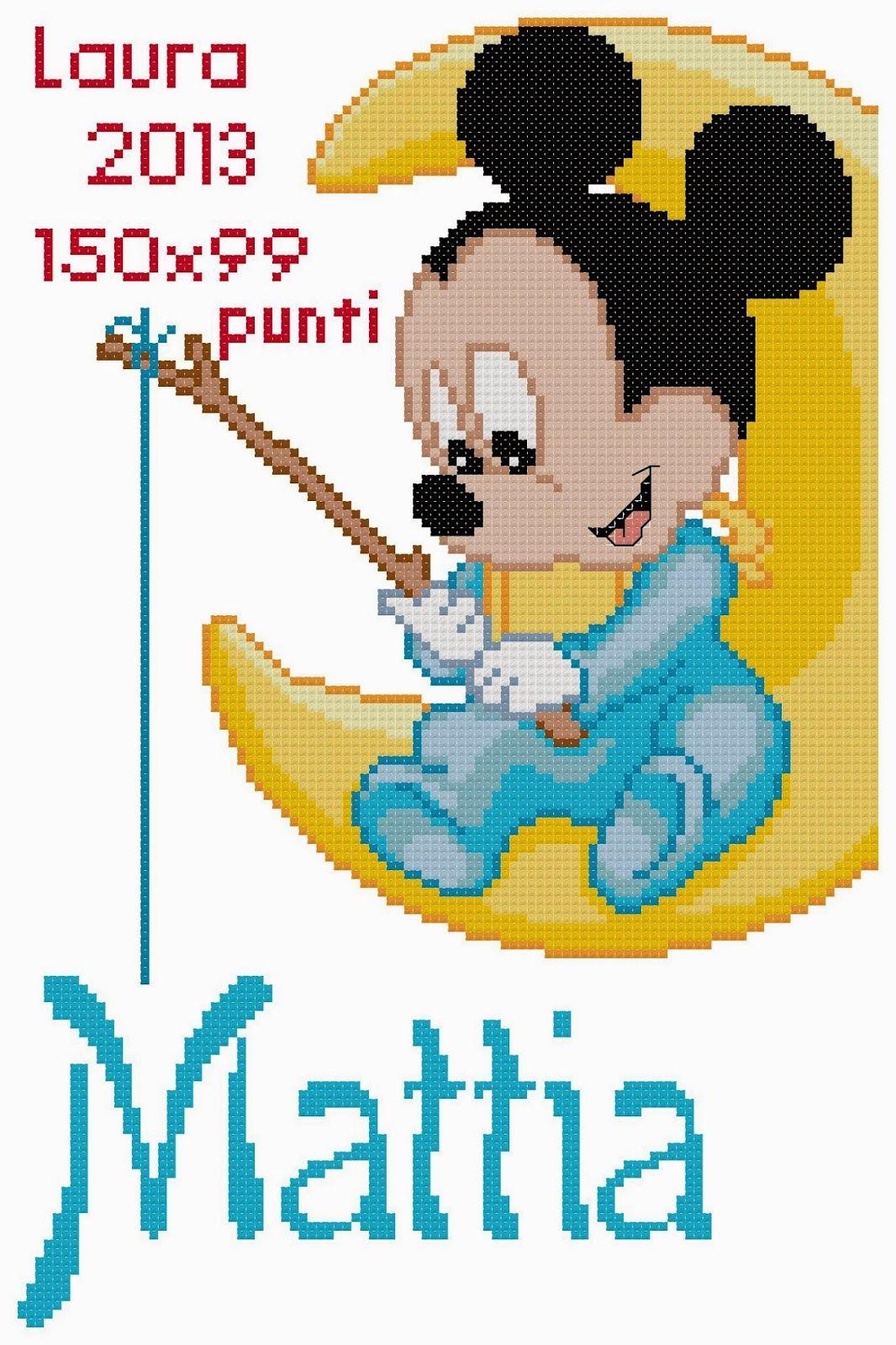 Schemi Punto Croce Bavaglini Disney Interesting Schemi Punto Croce