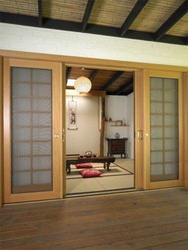Tatami room rocks japanese home design style house asian interior also best kitchen ideas images arquitetura decorating rh pinterest