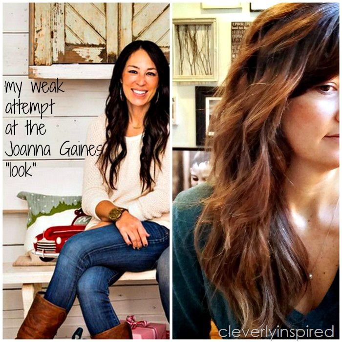 Joanna Gaines S Hair My Weak Attempt At A Hair Tutorial Joanna Gaines Hair Hair Tutorial Hair