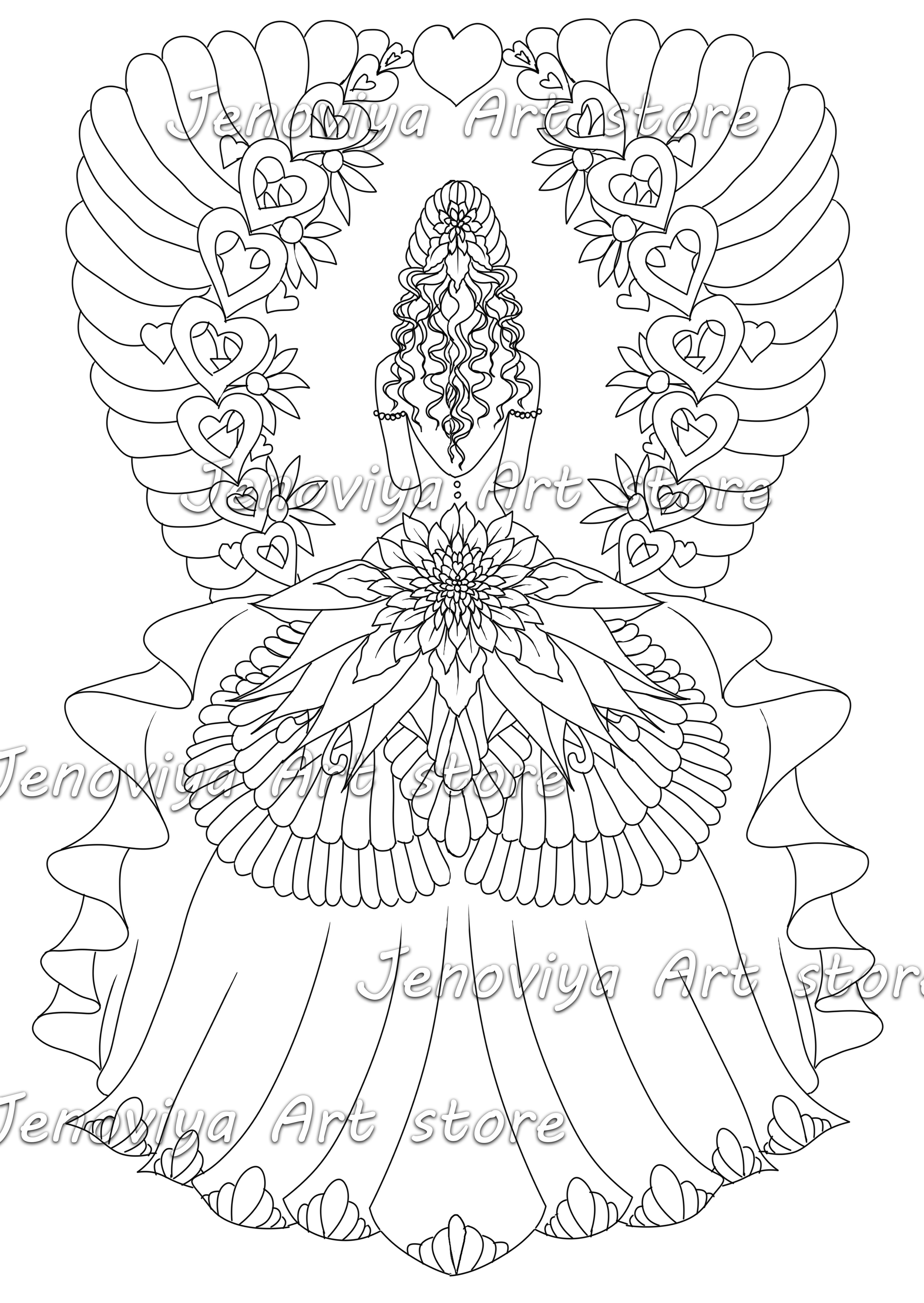 - Coloring Sheet Colouring Page Printable Coloring Book Adult
