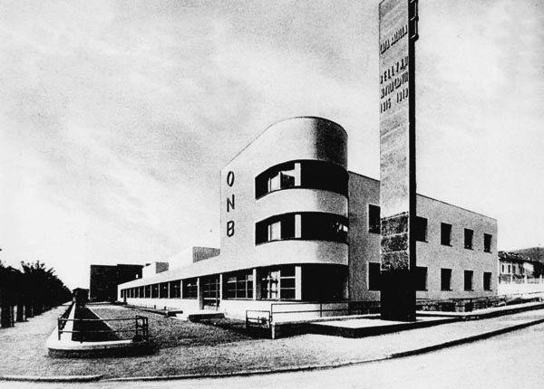 Casa del balilla belluno italy francesco mansutti gino for Bauhaus italia