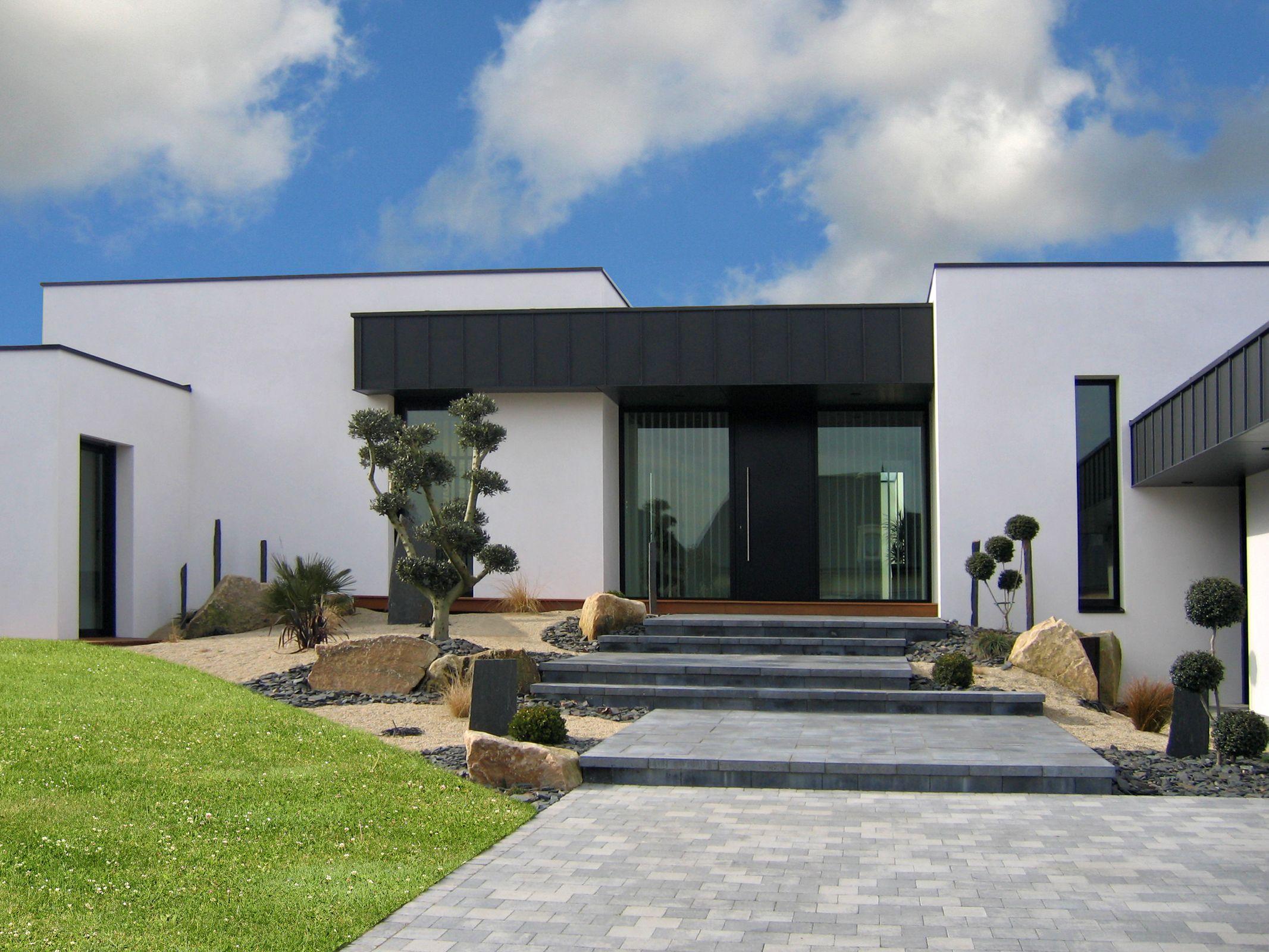 amenagement.exterieur maison moderne - Recherche Google | plans ...
