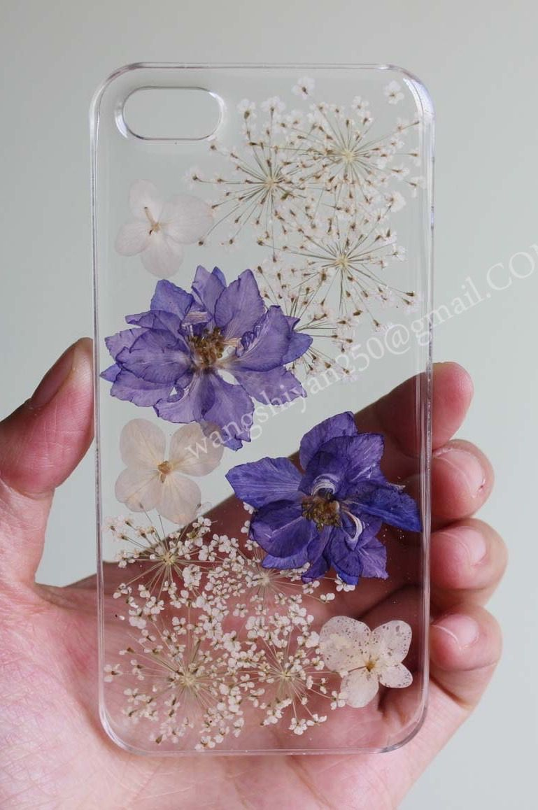 on sale f8a17 dc43f Pressed flower phone case,Real flowers case   gadgets à essayer in ...