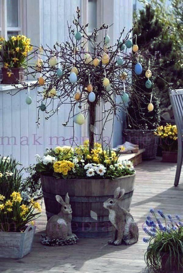 Die besten 27 DIY Spring Porch Dekorationsprojekte - Moyiki Sites