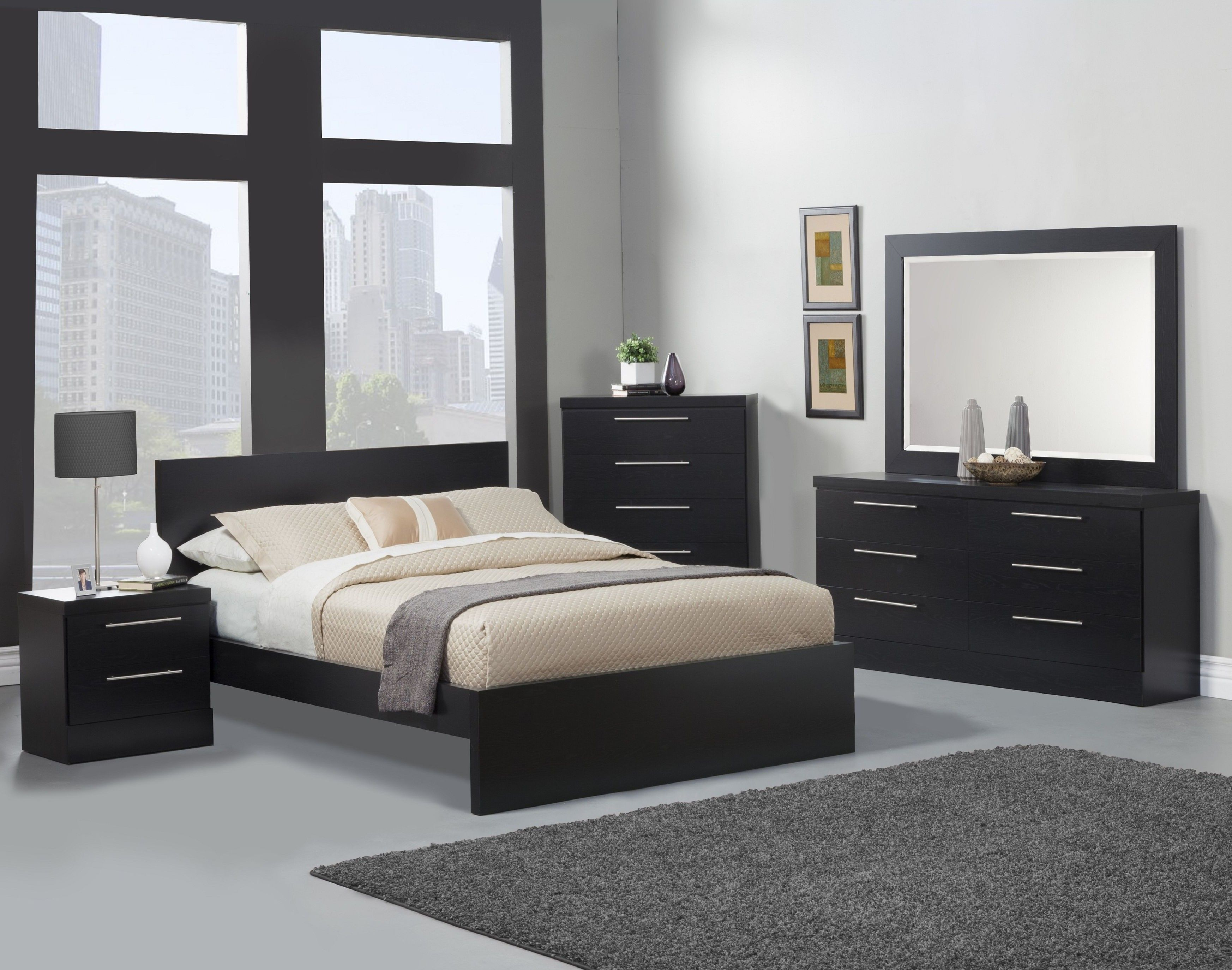Elegant Bedroom Furniture With Minimalist Interior Design Bedroom