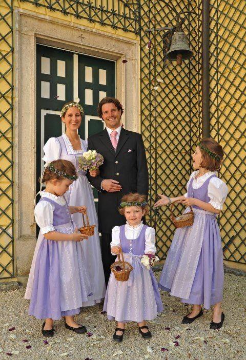 Traditional Austrian Wedding