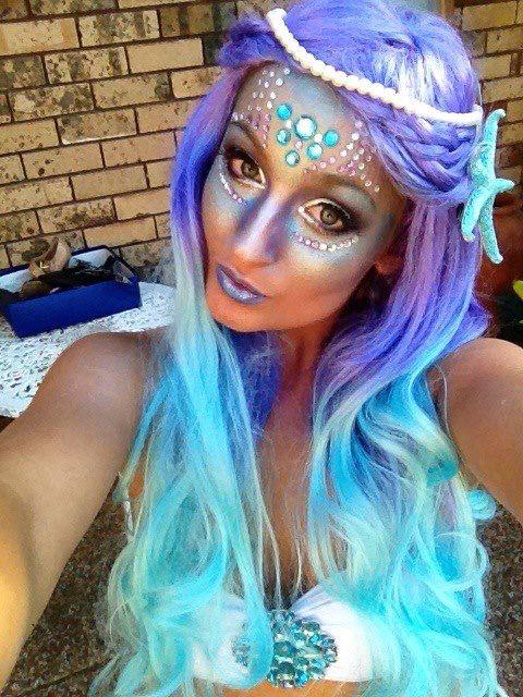 Mermaid Makeup Design By Tamara Abeska Color Guard Sport Of The