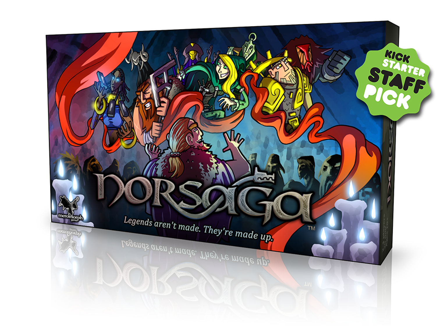 Norsaga by Meromorph Games —Kickstarter (With images