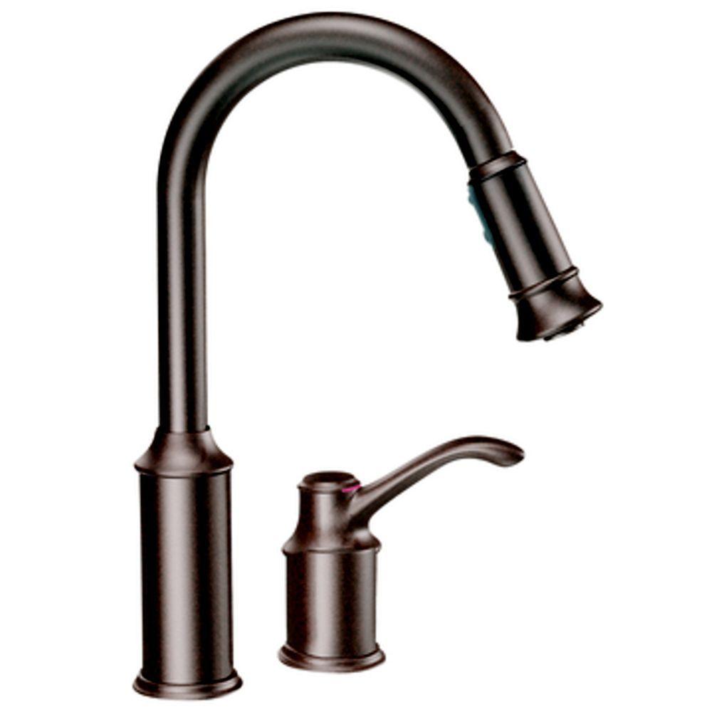 Moen Bronze Kitchen Faucet Home Depot