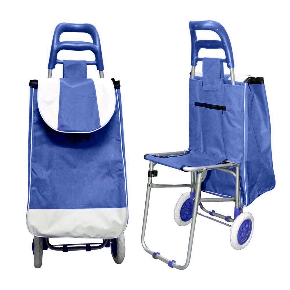 Multi Purpose Trolley Bag With Foldable Chair Other Pinterest Chairs