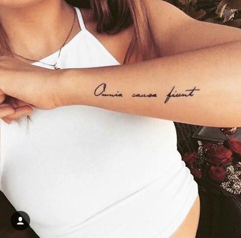 Tattoo sprüche handgelenk