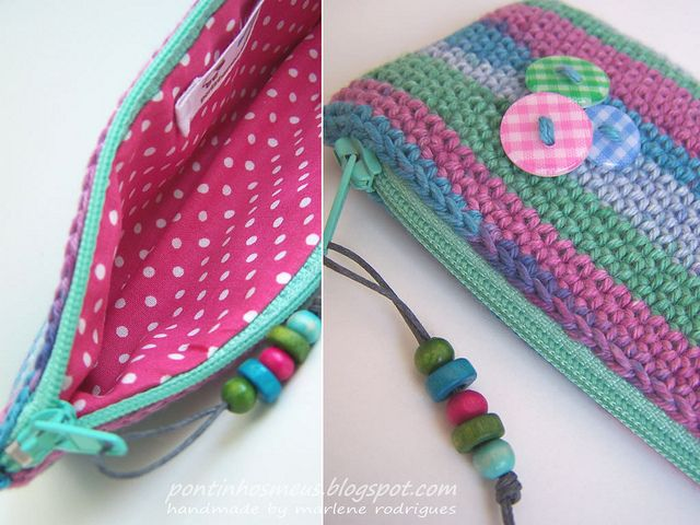 crochet pencil case   Crochet pencil case, Crochet and ...