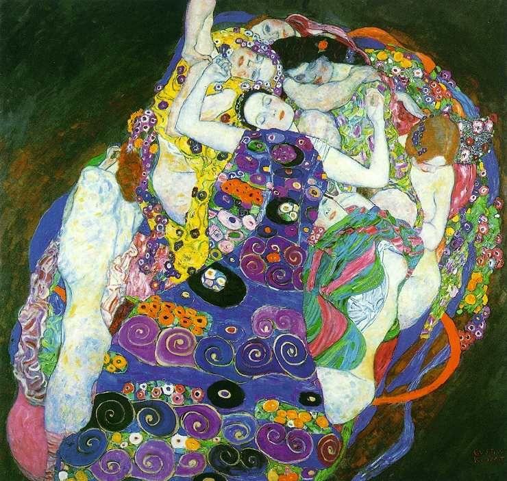 Gustav Klimt 'The Virgin'