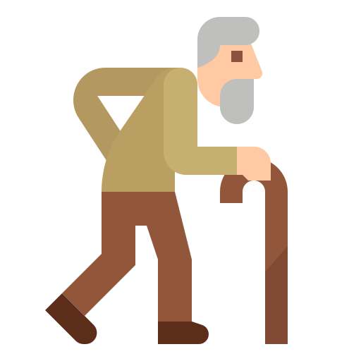 Check Out Old Man Icon Created By Benjamin Bours Man Icon Royalty Free Icons Free Icons