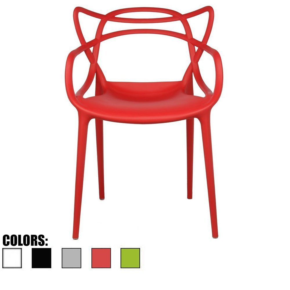 Red Dining Room Chair Modern Contemporary Designer Designed Popular Home Office Work Indoor Outdoor Armchair Living Family Kitchen Bed Bedroom Porch