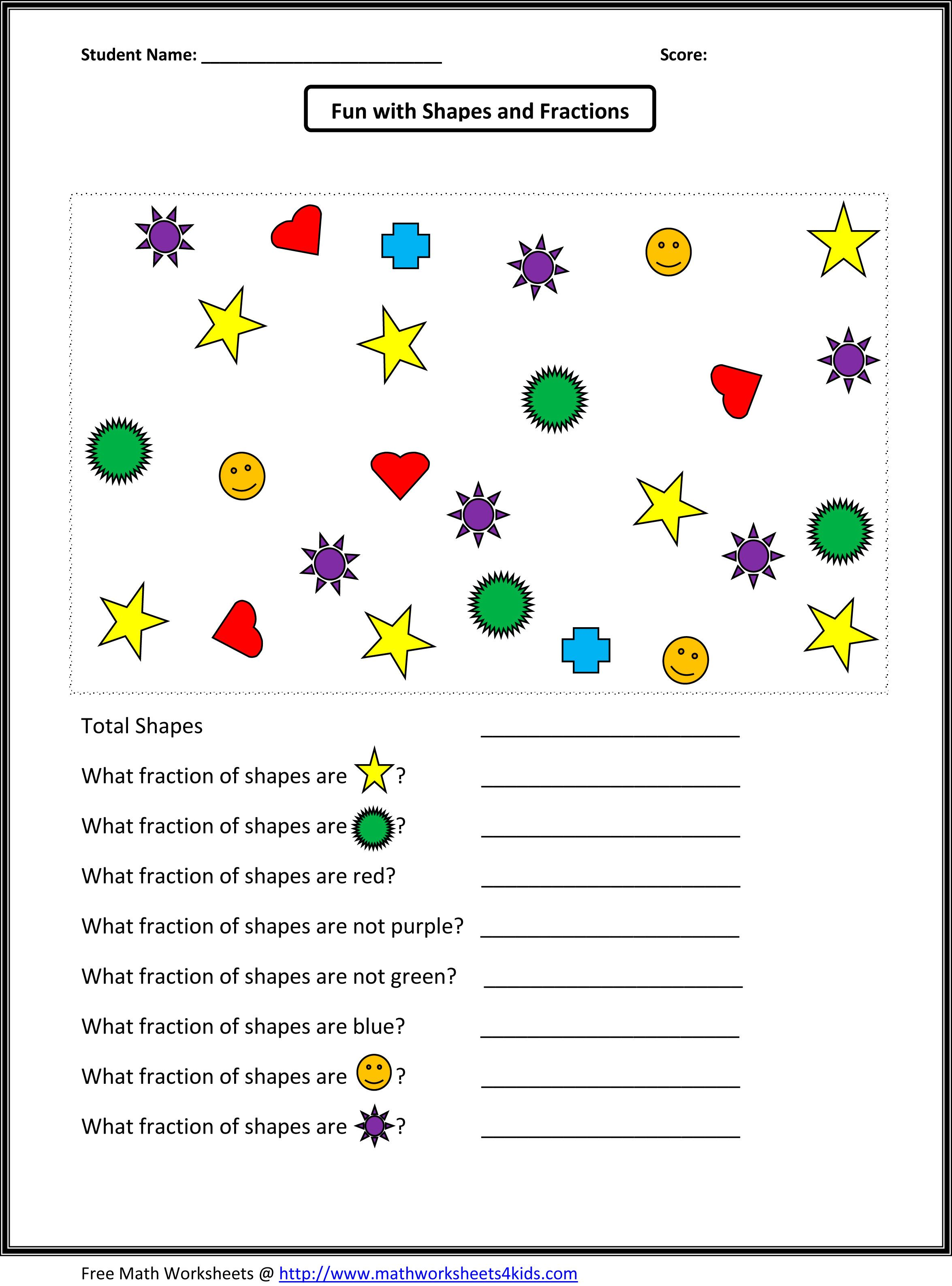 Worksheets Identifying Fractions Worksheet identifying fraction worksheets whats new pinterest worksheets