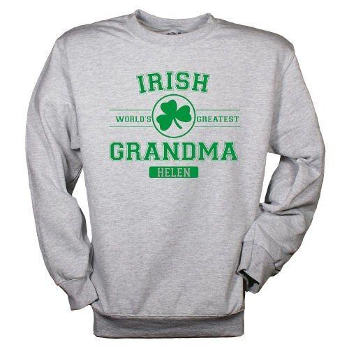 Personalized Irish Grandma Sweatshirt