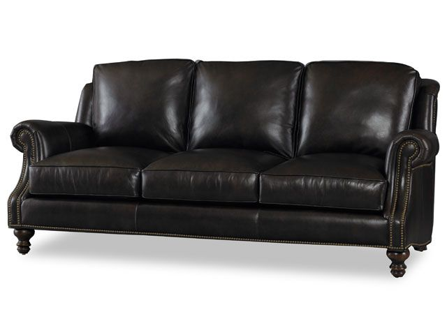 800 5238 Bradington Leather Sofa