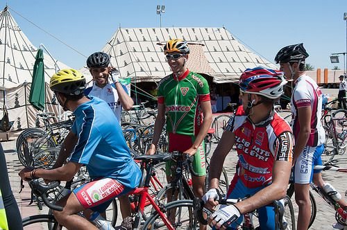 Marrakech Atlas Etape 2014 -    Marrakech Atlas Etape is an annual cyclosportive event from Marrakech to Oukaïmeden, in the High Atlas Mountains, in support of the charity, Educ...