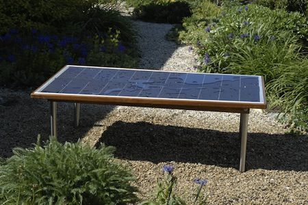 Peachy Solar Suntable Is Perfect Patio Furniture For Green Geeks Pdpeps Interior Chair Design Pdpepsorg