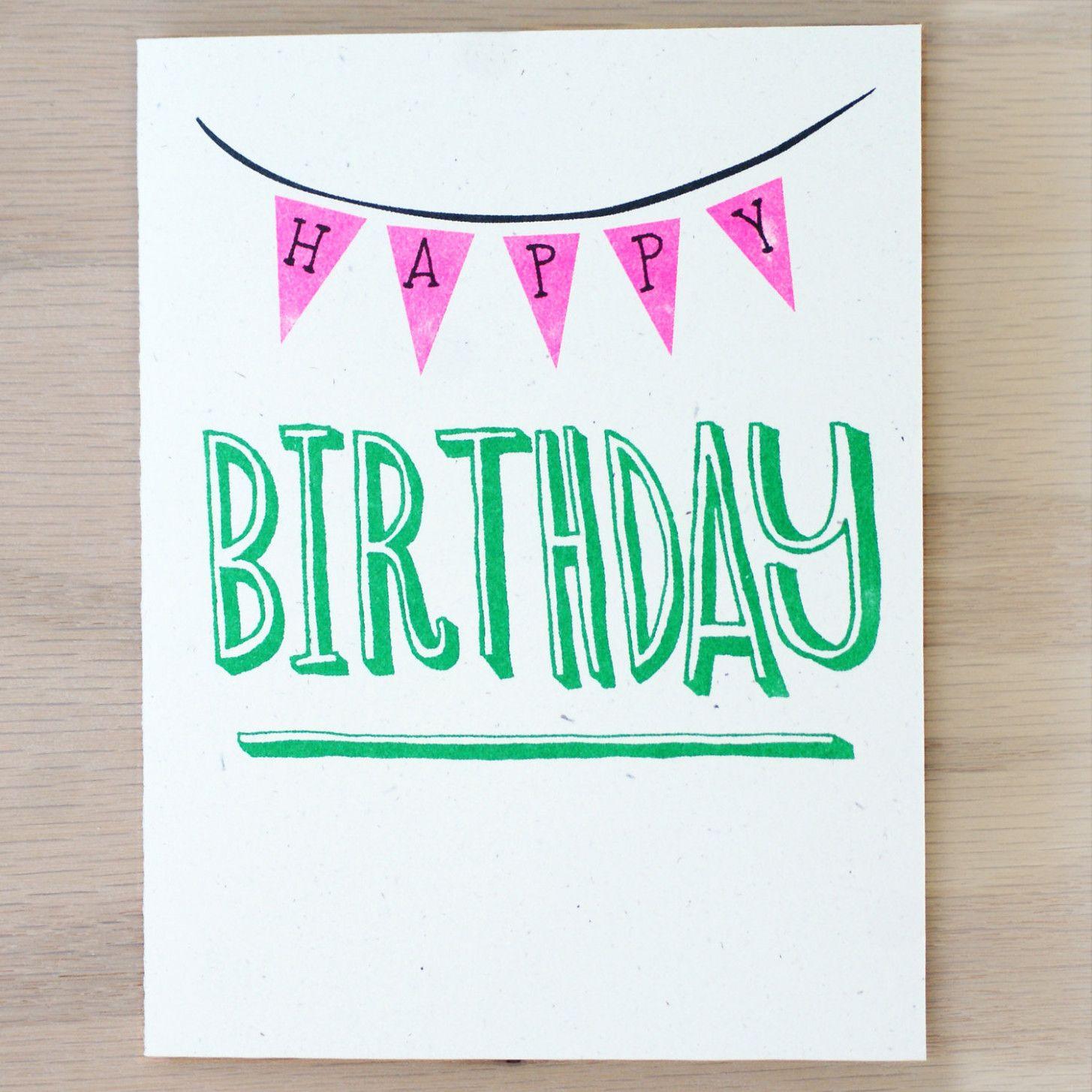 Card Za Happy Birthday