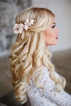 Wedding down hairstyles 2018
