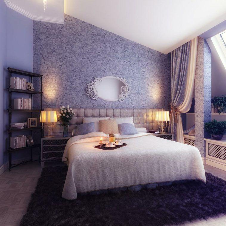 Black Fur Area Rug Under Bed Elegant Bedroom Romantic Bedroom