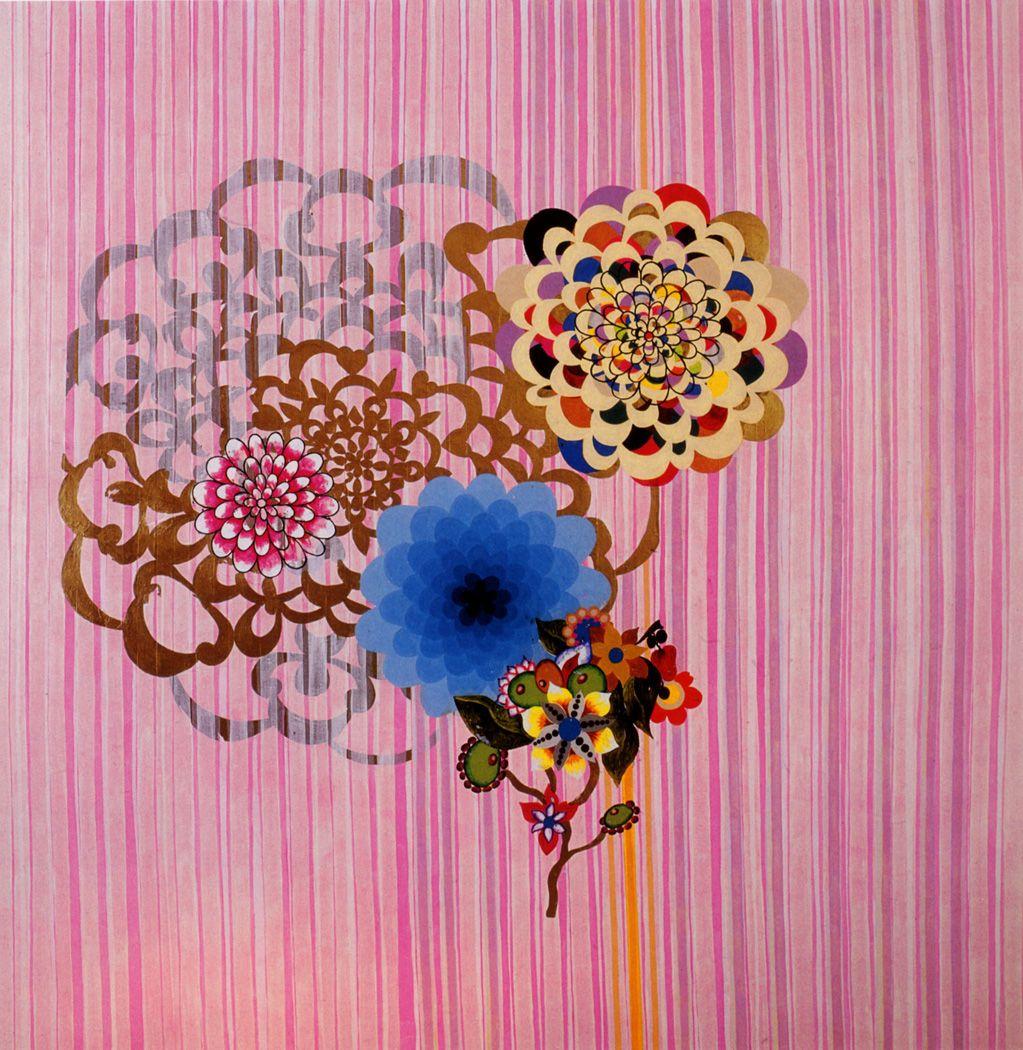 Beatriz Milhazes | Art graf, Flower doodles, Art