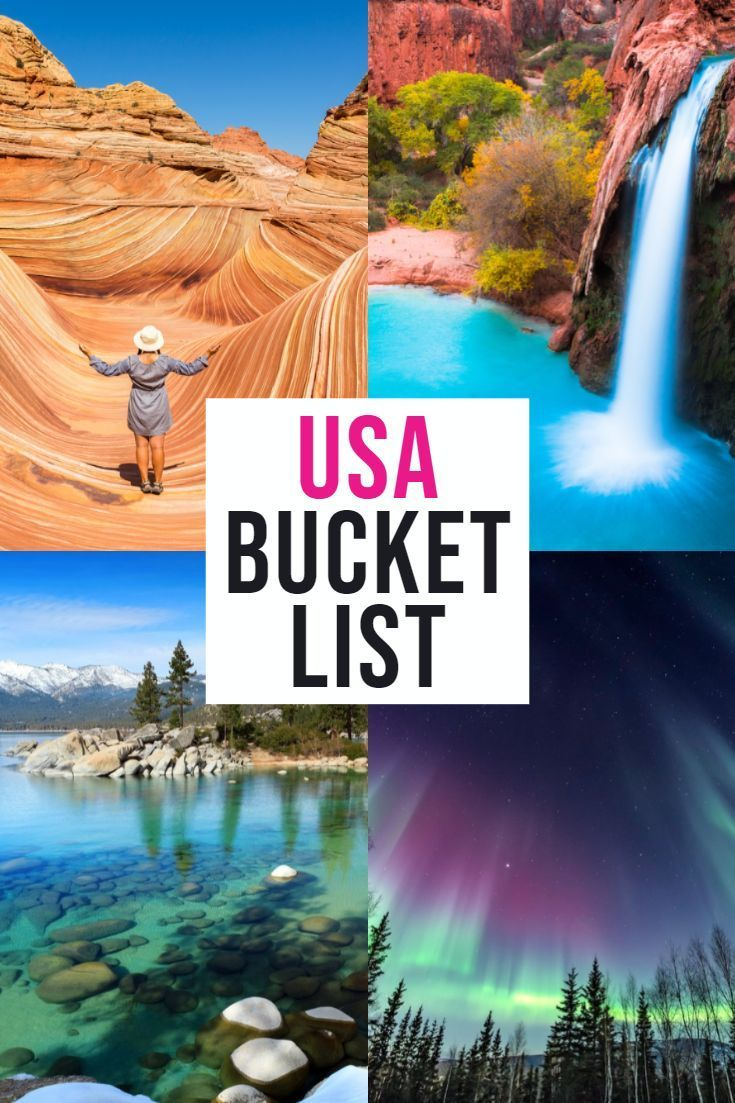 Looking for the BEST USA bucket list destinations? This comprehensive list has them all!