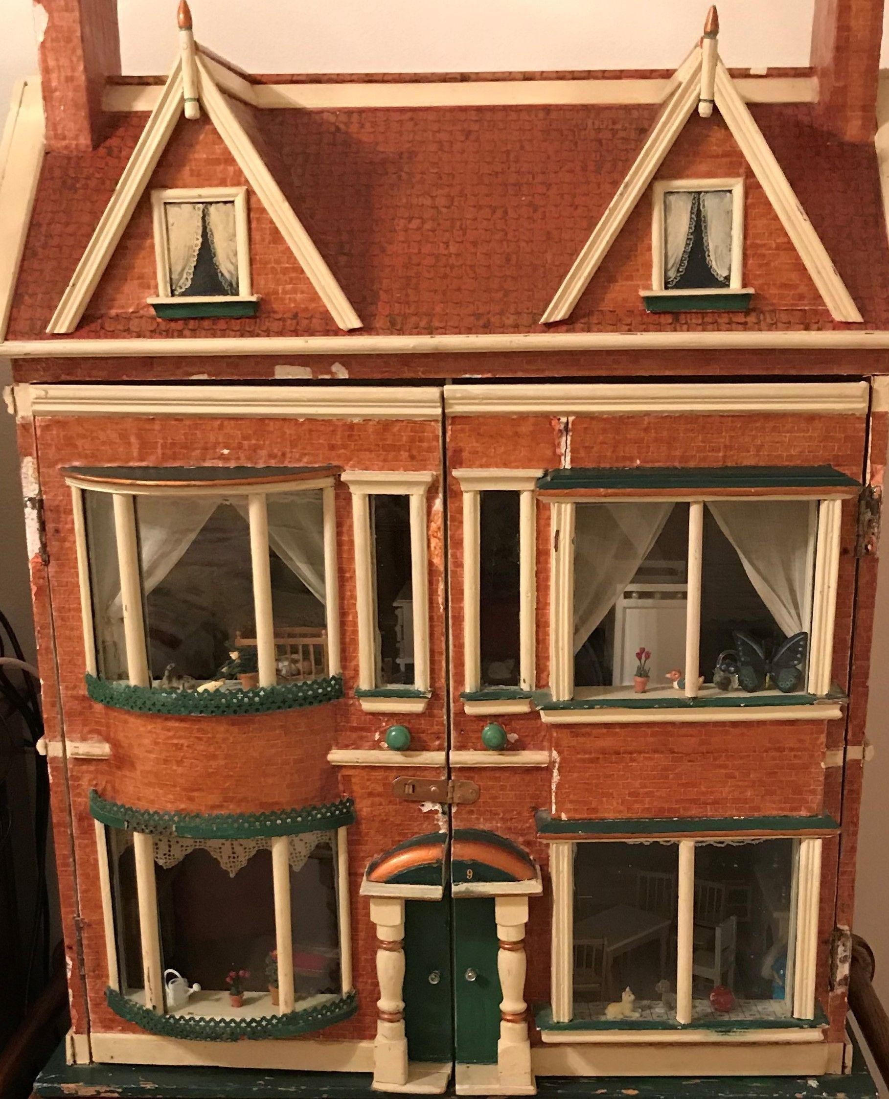 Antique 1890 Dollhouse Victoriandollhouse For Sale Philadelphia Victorian Dollhouse 1890 37 Ta Doll Houses For Sale Doll House Wooden Dolls House Furniture