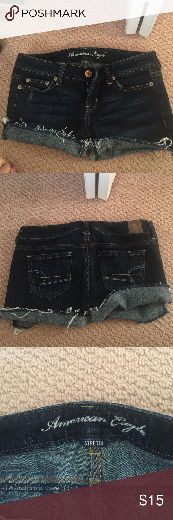 american eagle jean shorts american eagle shorts great condition!! American Eagle Outfitters Shorts Jean Shorts