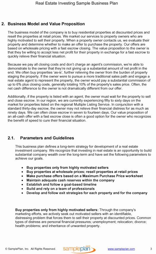 25 Real Estate Investment Proposal in 2020 Proposal