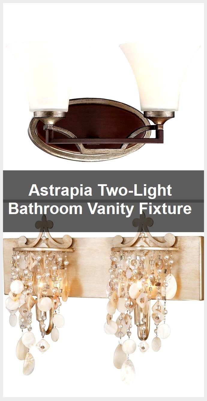 Photo of Astrapia Two-Light Bathroom Vanity Fixture,  #Astrapia #Bathroom #Fixture #TwoLight #Vanity