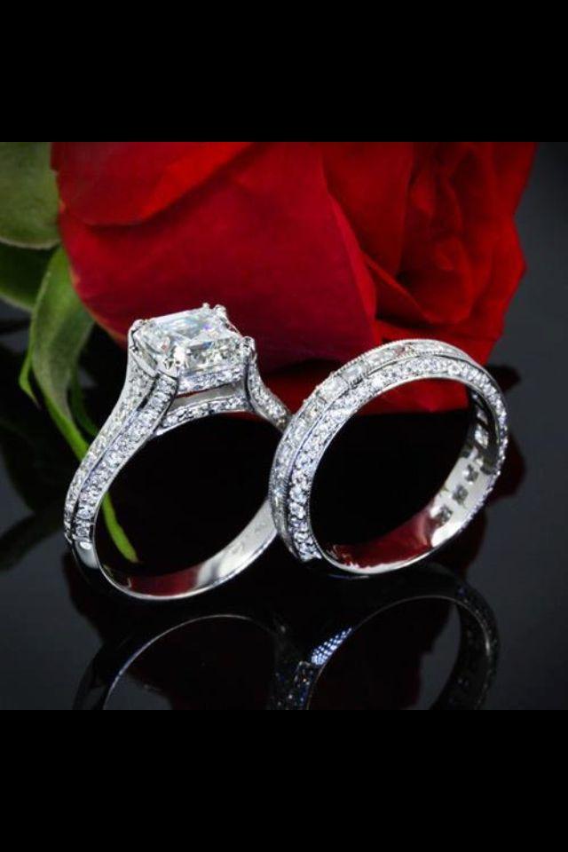 Dream Bridal Ring Set Love It Beautiful Wedding Rings