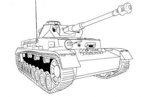Kak Narisovat Tank Karandashom S Izobrazheniyami Tank Detskie