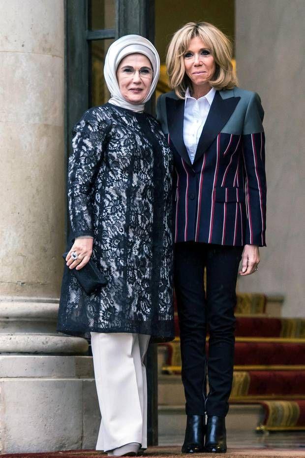 Der Style von Brigitte Macron: Fashion Looks