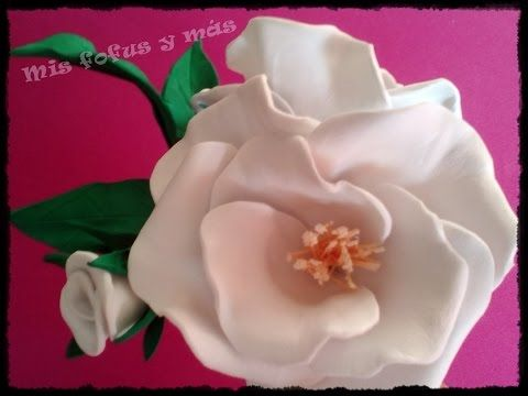 Flores De Goma Eva Rosa Silvestre Youtube Flores