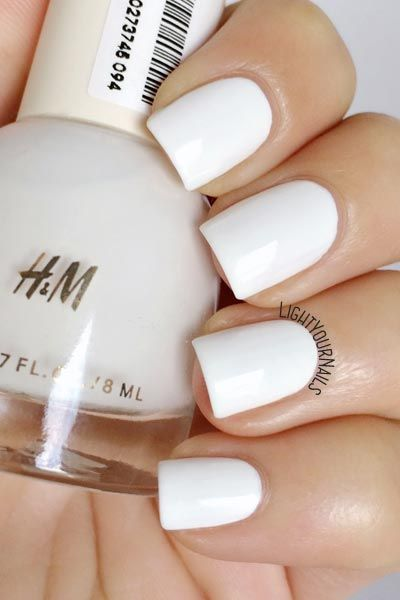 Smalto Bianco H M Whiteout White Nail Polish Uploaded By Fashionista Princess Jewelry Tumblr