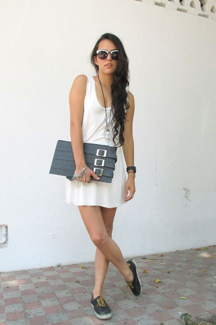 Love the laid back look!