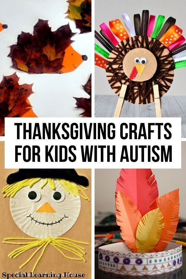 6 Easy Thanksgiving crafts for kids with autism - Special Learning House